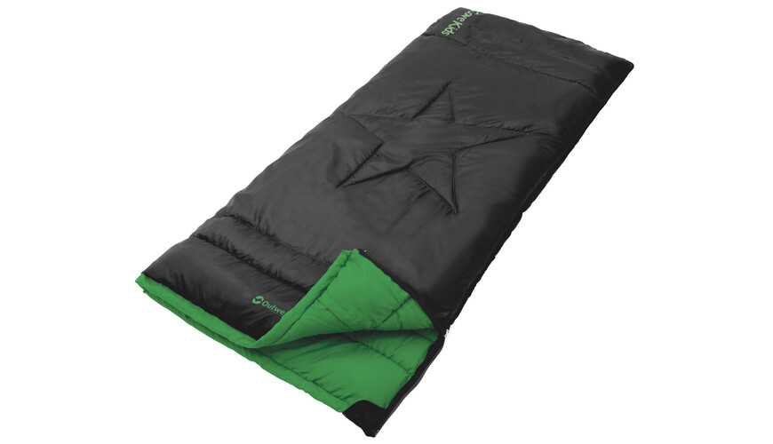 Outwell Cave Kids Sleeping Bag Black